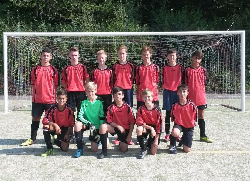 AFS-Jungs holen beim Fußball Kreisentscheid den dritten Rang