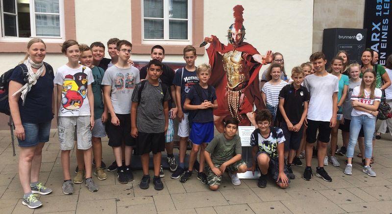Trierfahrt unserer Lateinschüler
