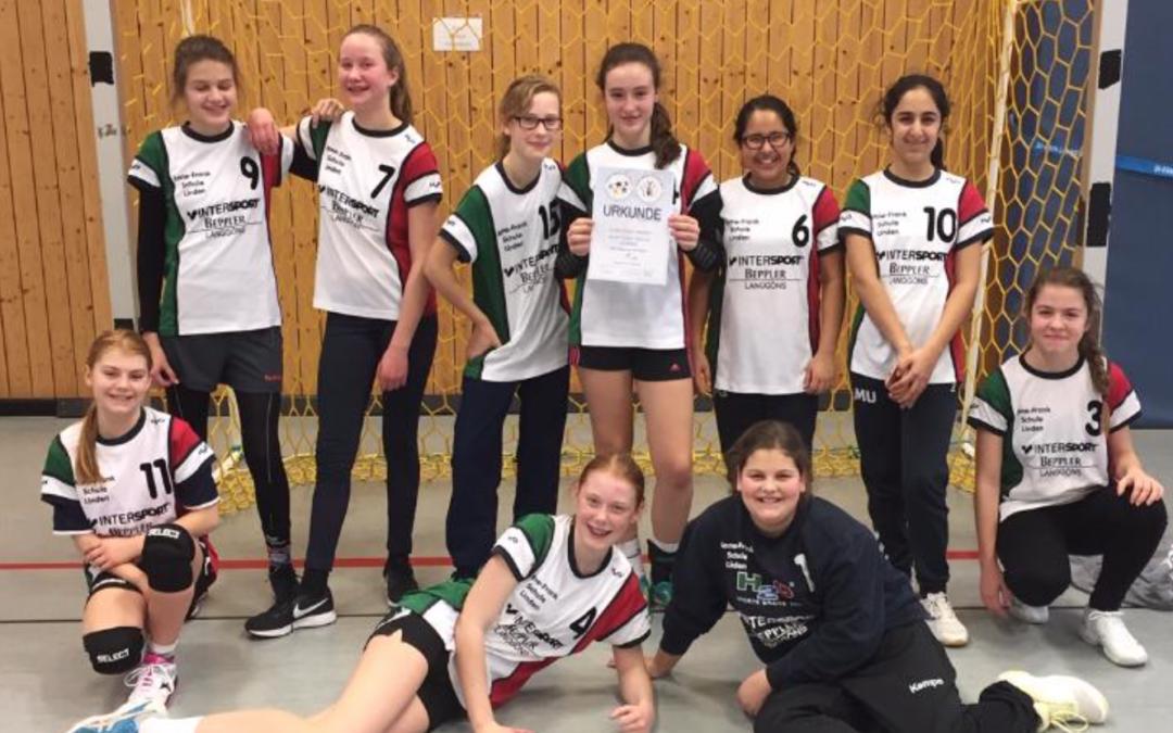AFS fährt zum Handball Regionalentscheid