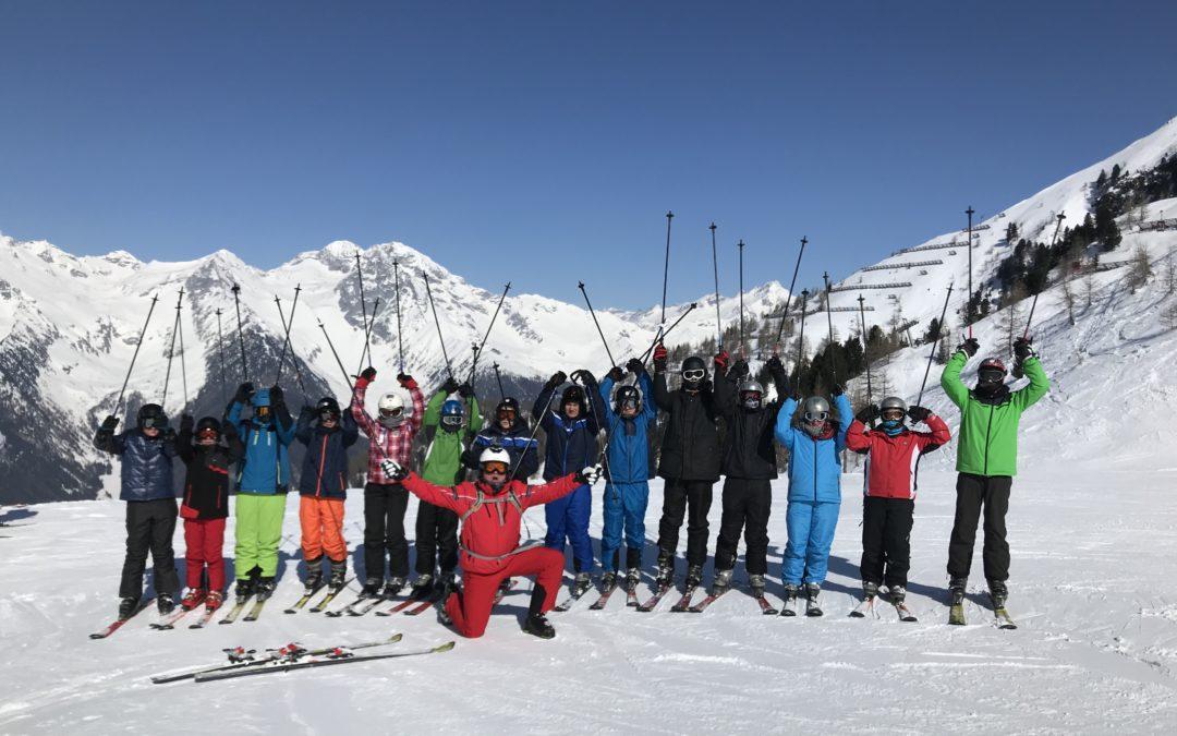 Ski- und Snowboardkurs der AFS in Südtirol