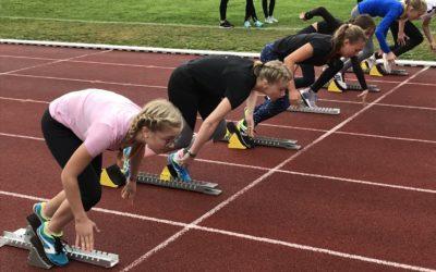 Erfolgreiche Leichtathletik-Schulteams der AFS