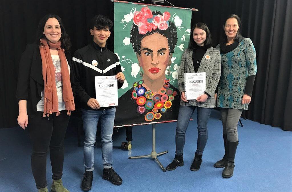 AFS stellt Sieger beim Vorlesewettbewerb Spanisch